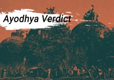 A SETTLED PARADOX: AYODHYA VERDICT