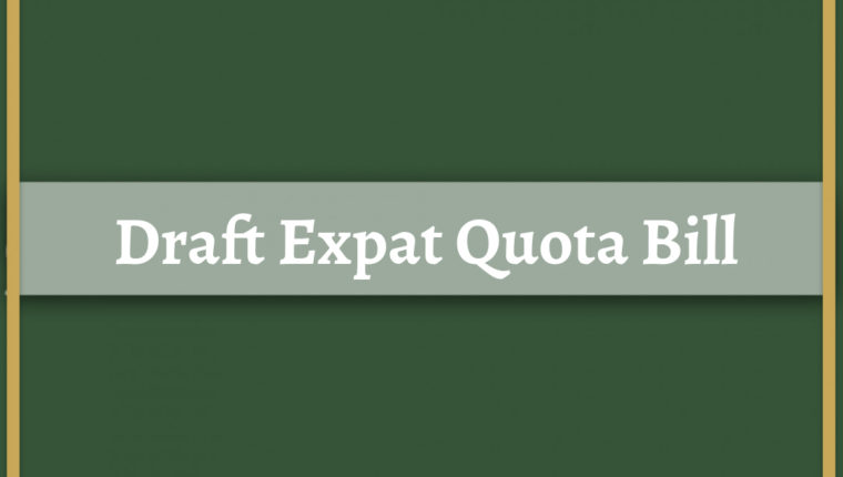 Expat Quota Bill: A brief of the Draft