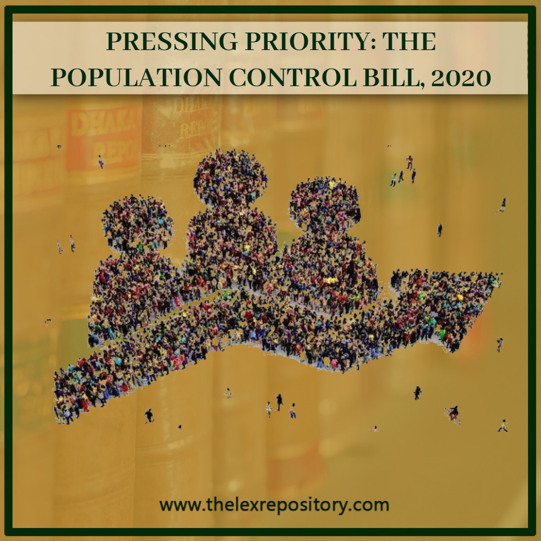 PRESSING PRIORITY: THE POPULATION CONTROL BILL, 2020