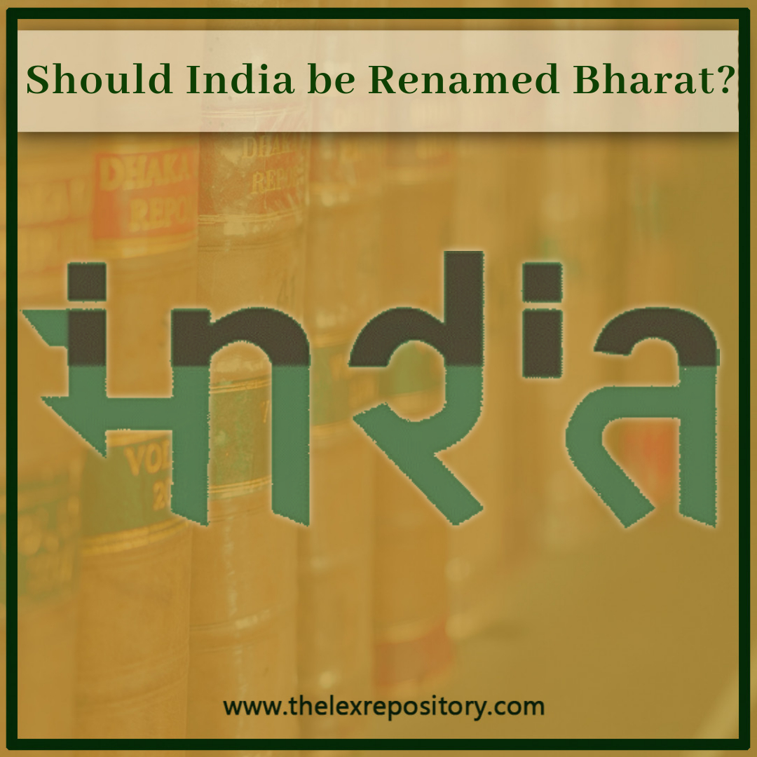 Should India be Renamed Bharat?