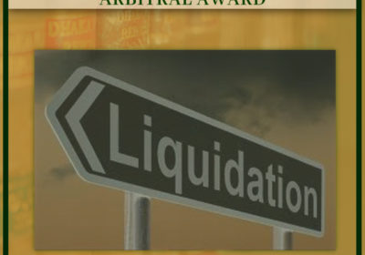PROMINENCE OF LIQUIDATION OVER ARBITRAL AWARD
