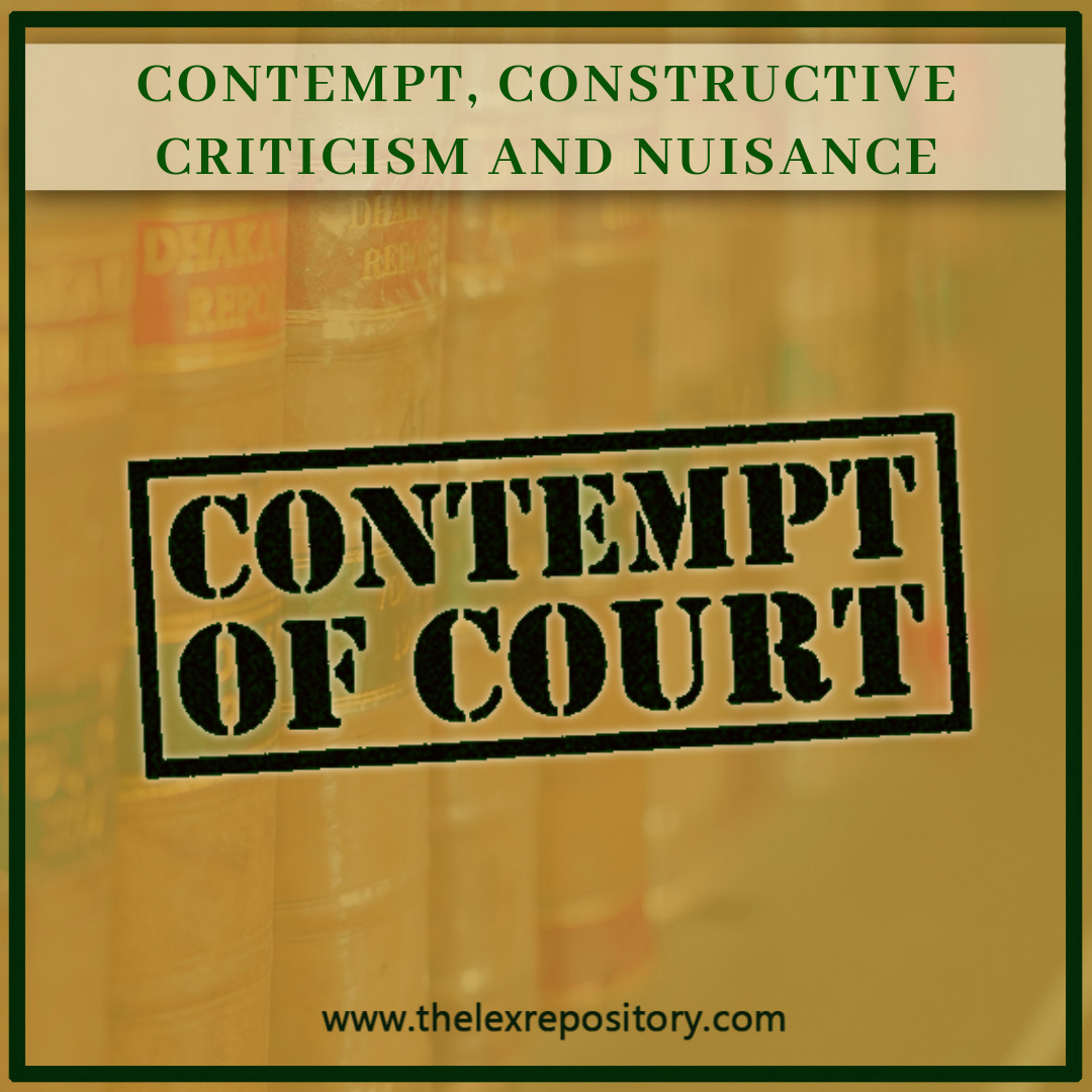 Prashant Bhushan on Contempt, Constructive Criticism and Nuisance