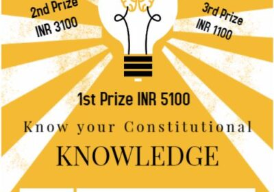 II NATIONAL ONLINE LAW QUIZ ON CONSTITUTIONAL LAW