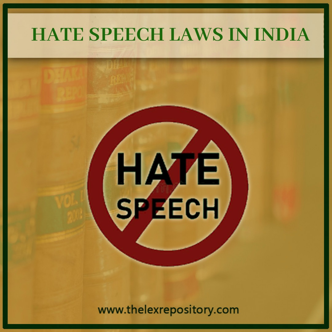 HATE SPEECH LAWS IN INDIA