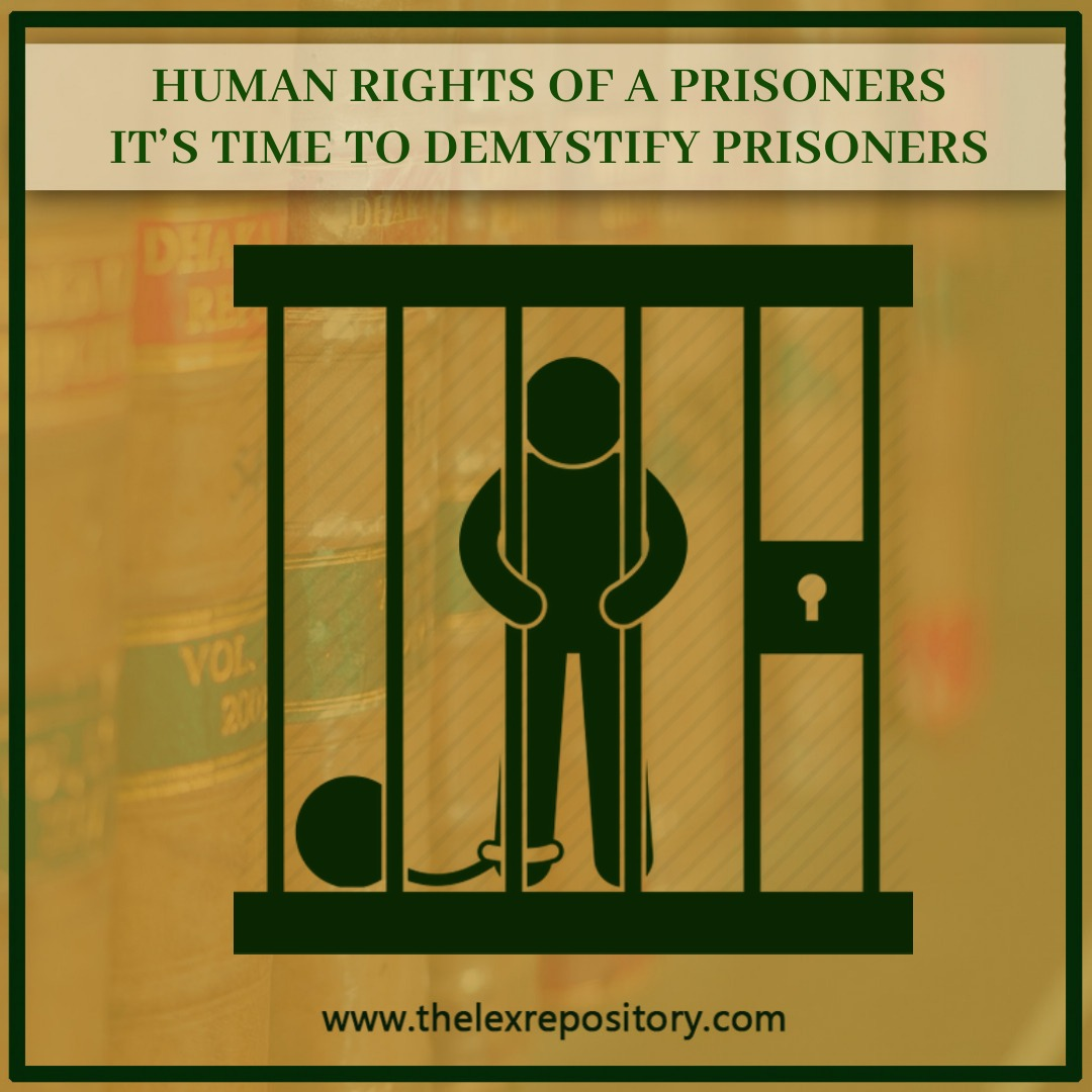HUMAN RIGHTS OF A PRISONER