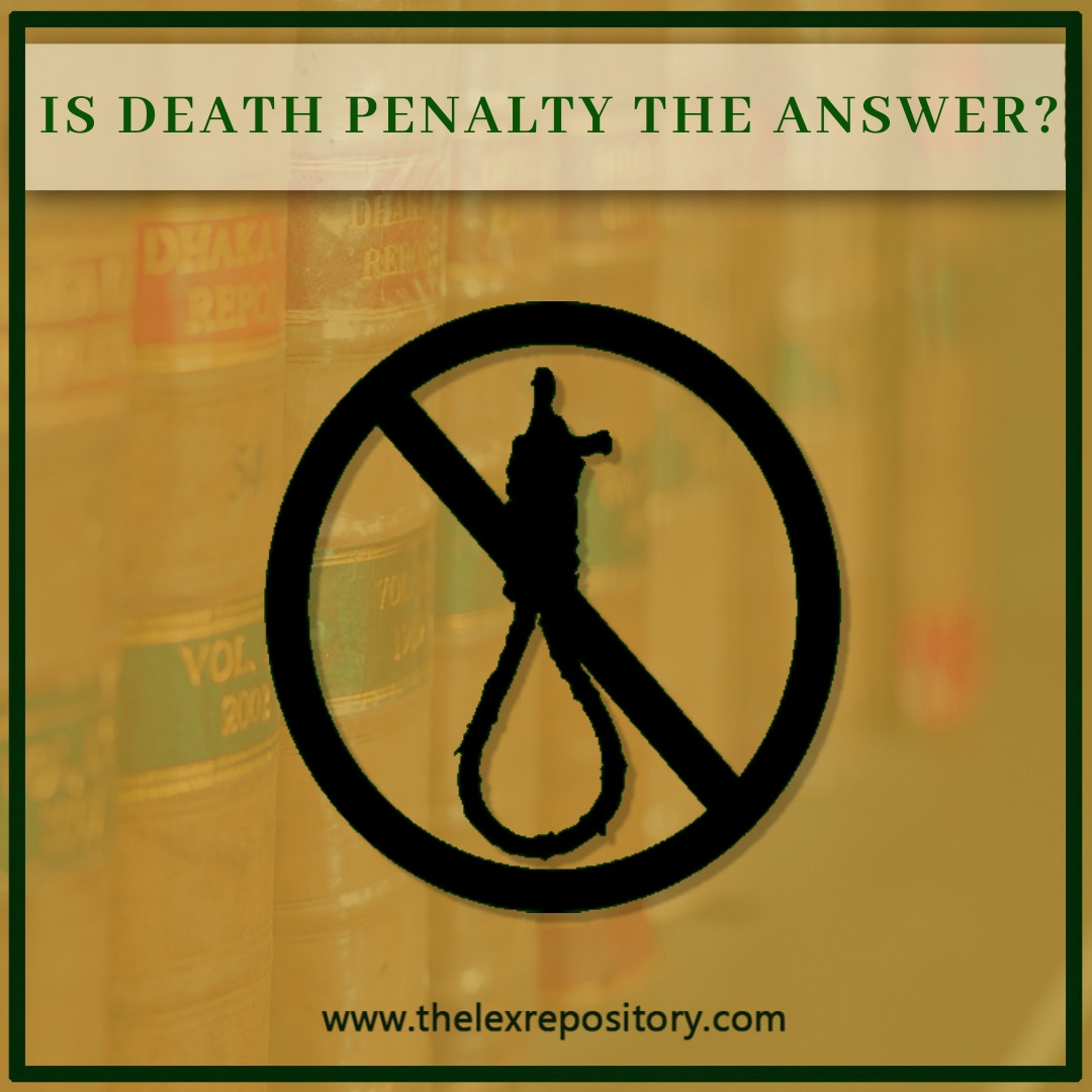 IS DEATH PENALTY THE ANSWER?