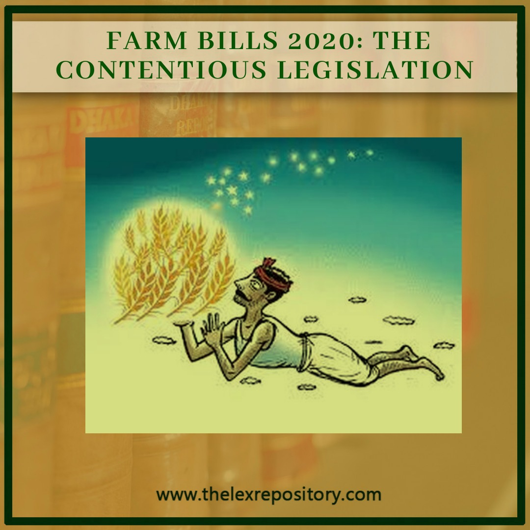 FARM BILL, 2020: THE CONTENTIOUS LEGISLATION