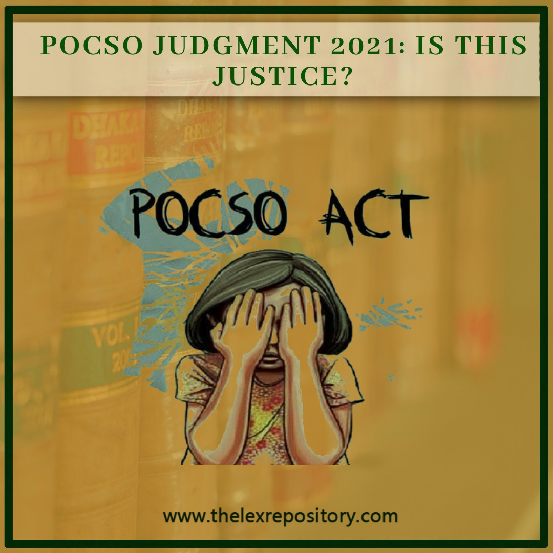 POCSO Act is a law to protect children from offenses of sexual assault, harassment, and pornography It incorporates child-friendly mechanisms