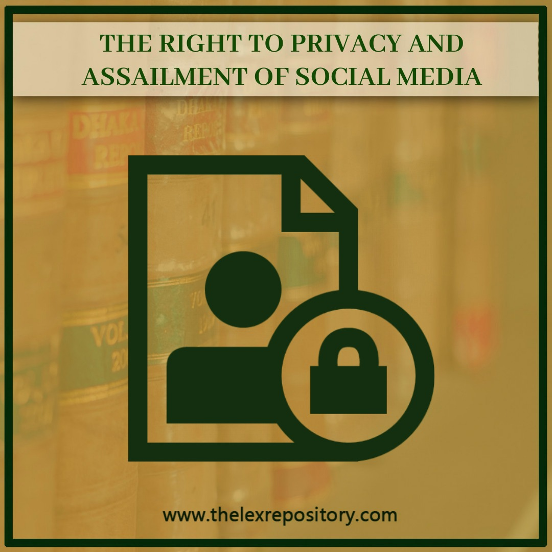 Right to privacy is an essential need of every individual's life. SC guidelines but an individual should also take proper safety measures.