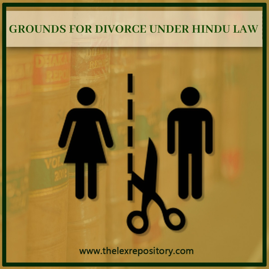 Divorce as a concept was unknown to general Hindu law, as marriage was regarded as an indissoluble union of the husband and wife.